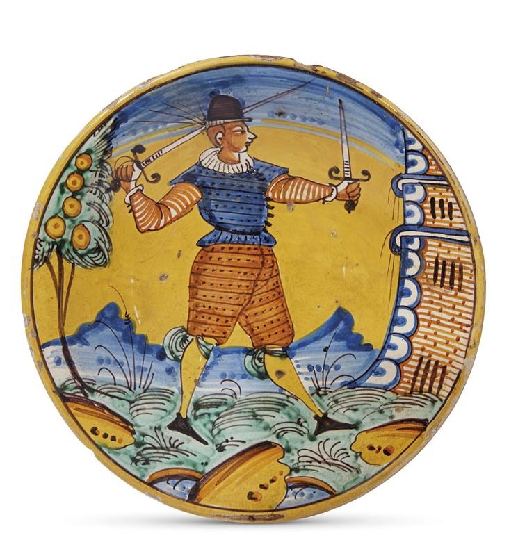 PIATTO, MONTELUPO, 1620-1640 CIRCA