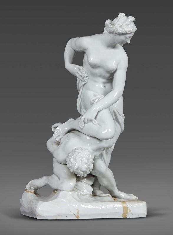 GRUPPO, DOCCIA, MANIFATTURA GINORI, 1760 CIRCA