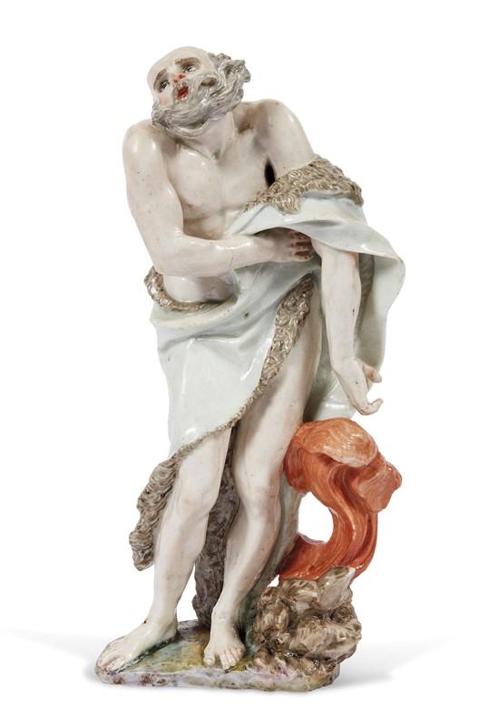 FIGURA, DOCCIA, MANIFATTURA GINORI, 1760 CIRCA
