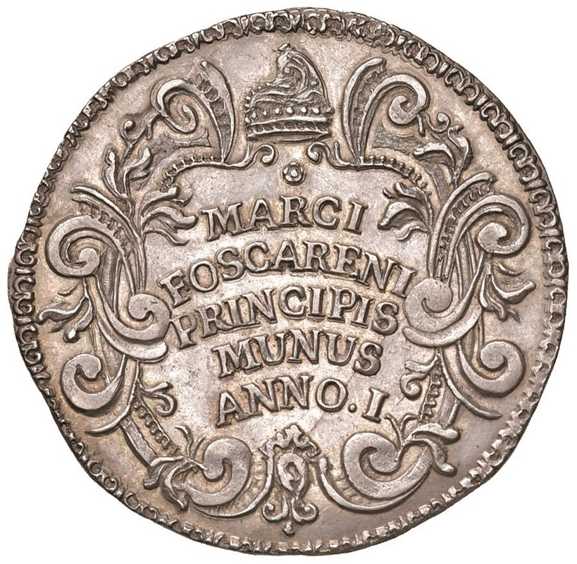 VENEZIA. MARCO FOSCARINI (1762-1763) OSELLA AN. I (1762)