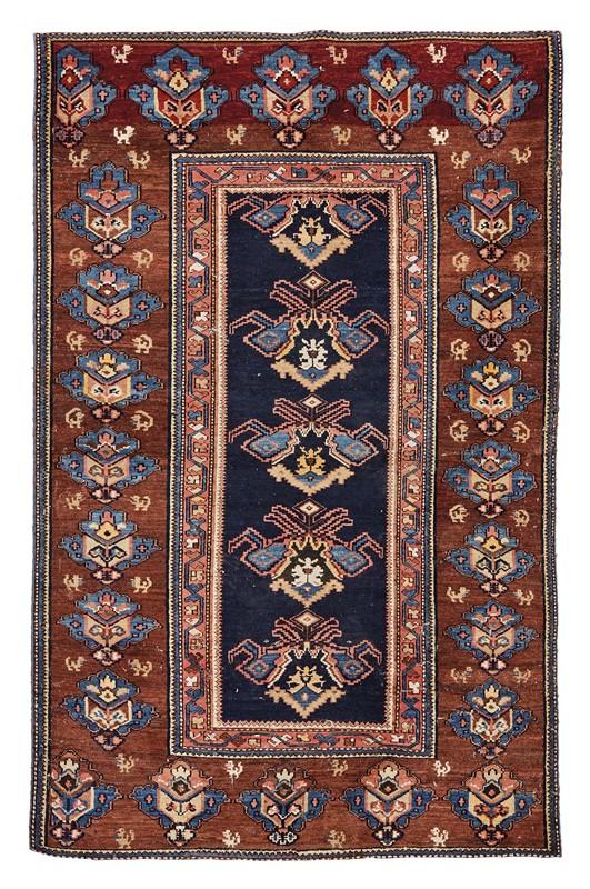 TAPPETO SHIRVAN, AZERBAIJAN, 1870