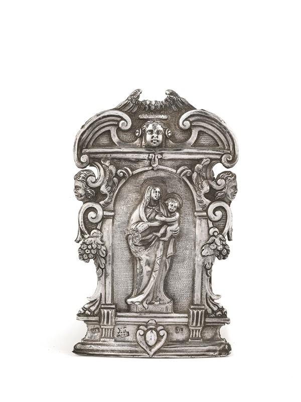 PACE DA ALTARE, MESSINA, ARGENTIERE PROBABILMENTE VITO BLANDINO, 1770 CIRCA