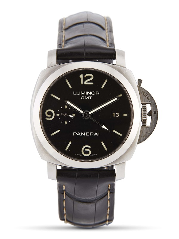PANERAI LUMINOR GMT 3 DAYS POWER RESERVE REF. PAM00320 N. R0342/1500 ANNO 2016