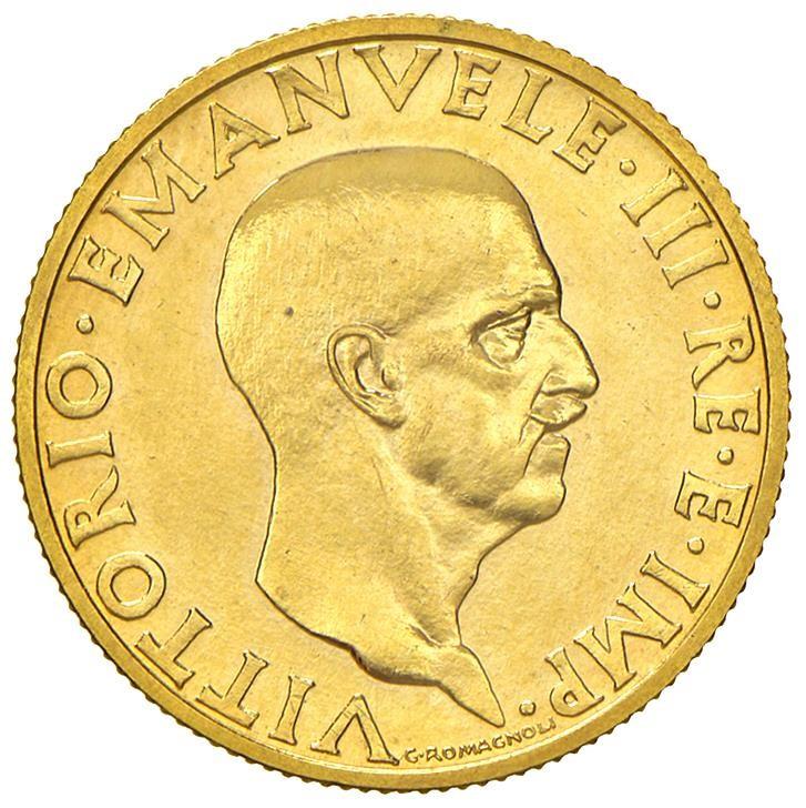 SAVOIA. VITTORIO EMANUELE III (1900-1943) 100 LIRE IMPERO 1936 Roma