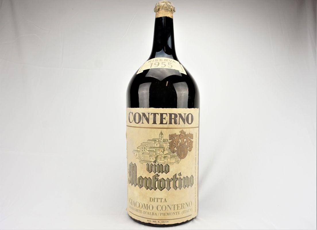 Barolo Monfortino Riserva Giacomo Conterno 1955