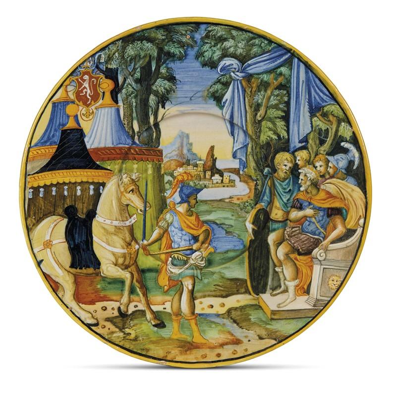 PIATTO, URBINO, 1535