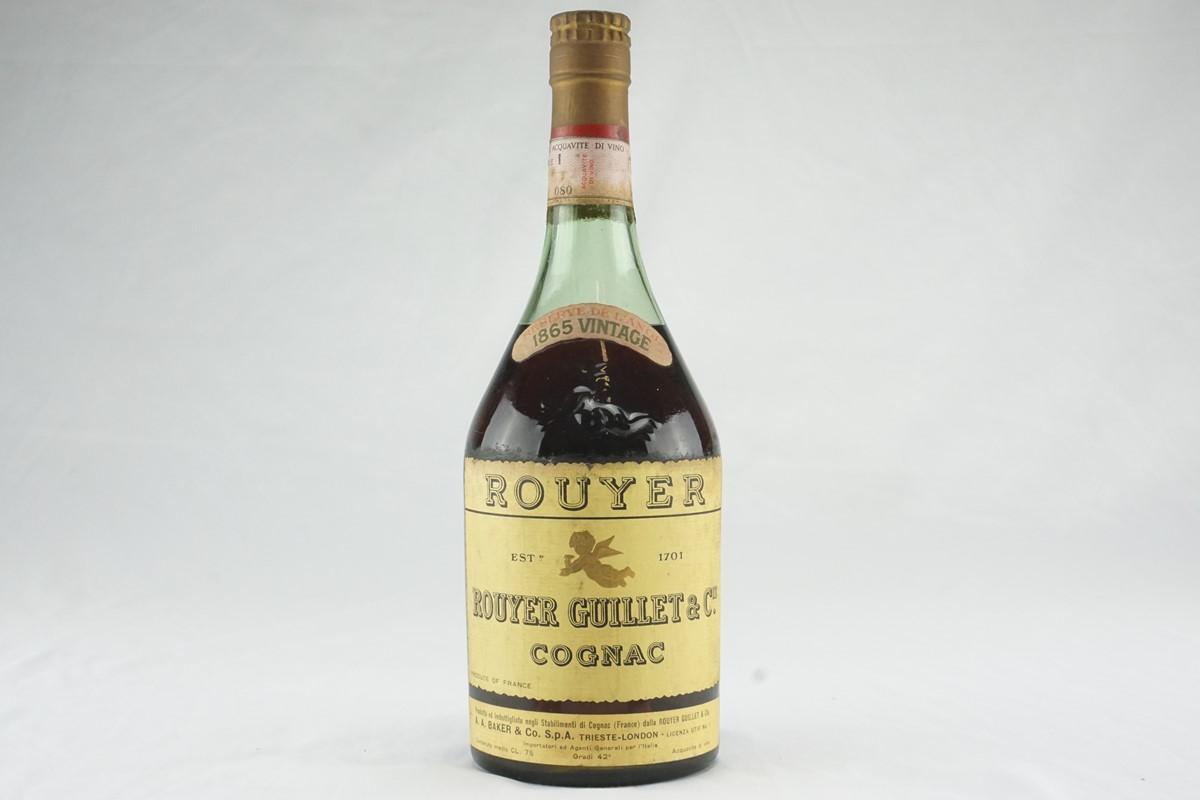 Cognac Rouyer Guillet & Co. 1865