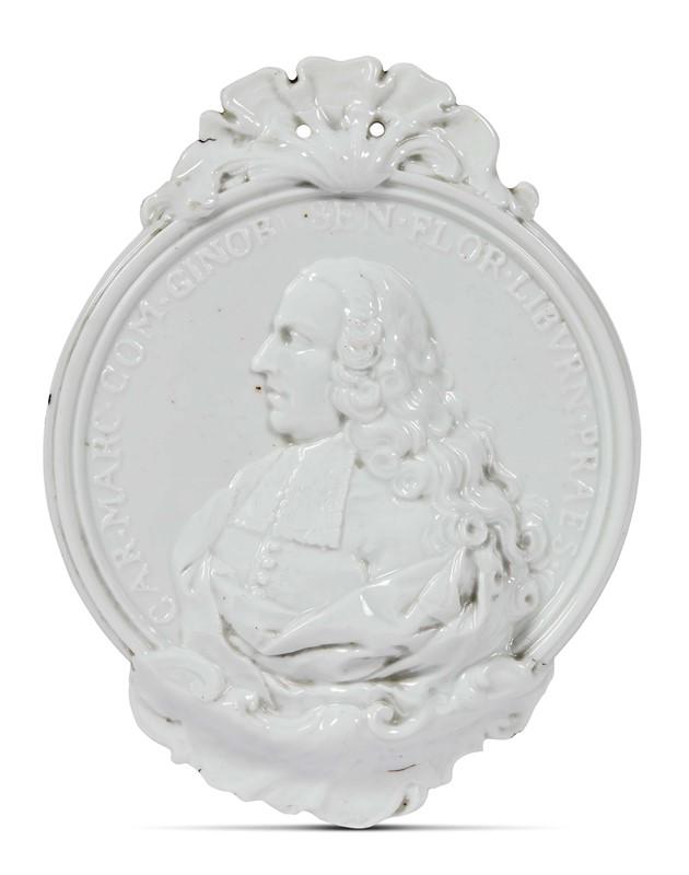 PLACCA, DOCCIA, MANIFATTURA GINORI, 1757-1760 CIRCA