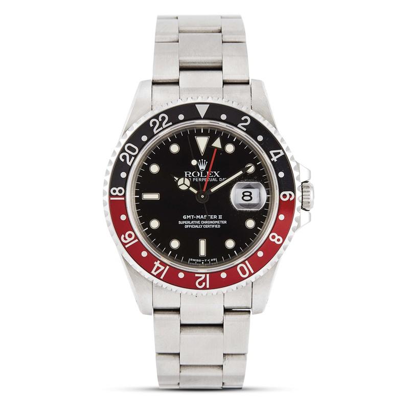 ROLEX GMT MASTER 2 REF 16710 N. X5944XX ANNO 1991