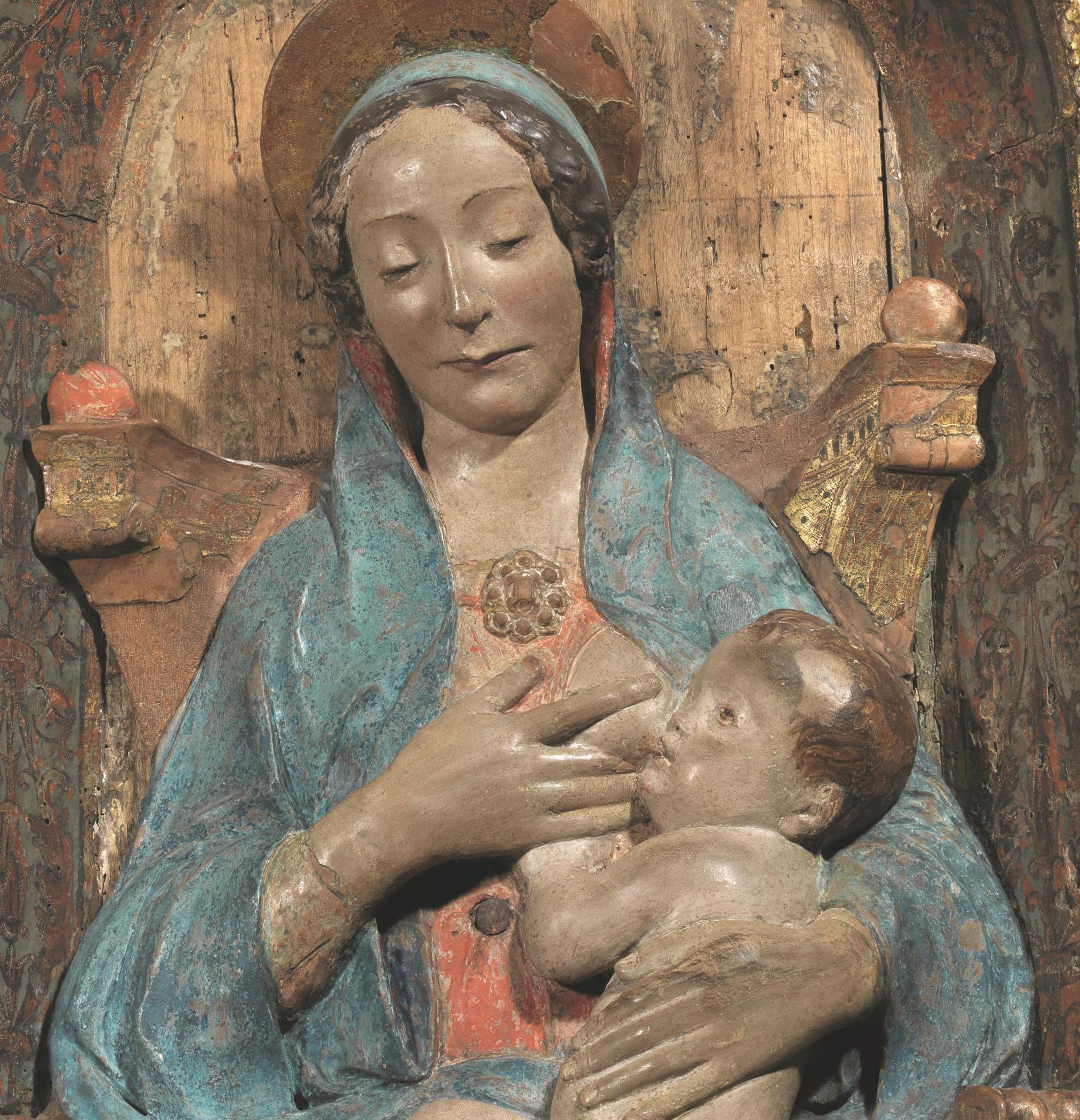 Polifemo Grande Scultura Legno Applique Arte Siciliana Artigianato Vintage Rare Big Clearance Sale Arte E Antiquariato