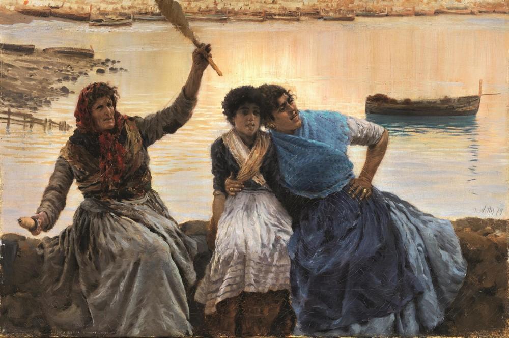 Una selezione di opere dell' 800 italiano - Le Aste ...