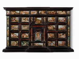 CABINET, NAPLES, SECOND HALF OF THE 17TH CENTURY