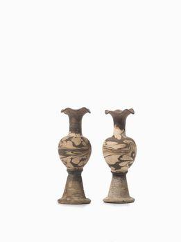 Coppia di vasi in terracotta cina dinastia liao tang for Vasi in terracotta on line