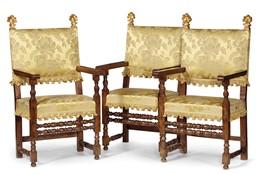 Tre seggioloni in stile toscano del seicento mobili ed for Mobili 800 toscano