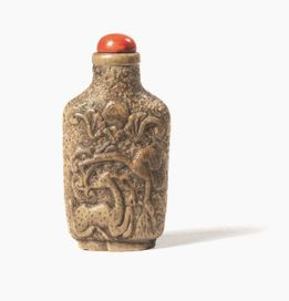 SNUFF BOTTLE, CINA, SEC. XIX