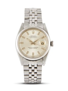 "ROLEX DATEJUST ""WIDE BOY"" REF 1601 N 41300XX ANNO 1976"