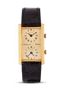 CHOPARD DUAL TIME REF 2030 ORO GIALLO
