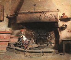 Una selezione di opere dell 39 800 italiano le aste for Moretti foggia pittore