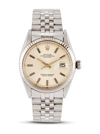 "ROLEX DATEJUST ""WIDE BOY"" REF 1601 N 39420XX ANNO 1975"