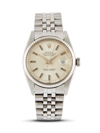 "ROLEX DATEJUST ""WIDE BOY"" REF 16014 N 53553XX ANNO 1977"