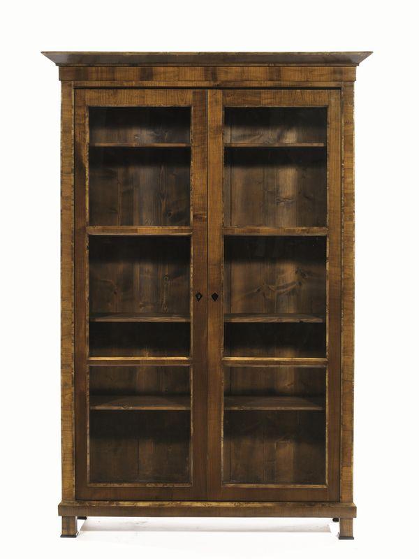 Coppia di librerie austria fine sec xix in stile for Asta mobili antichi