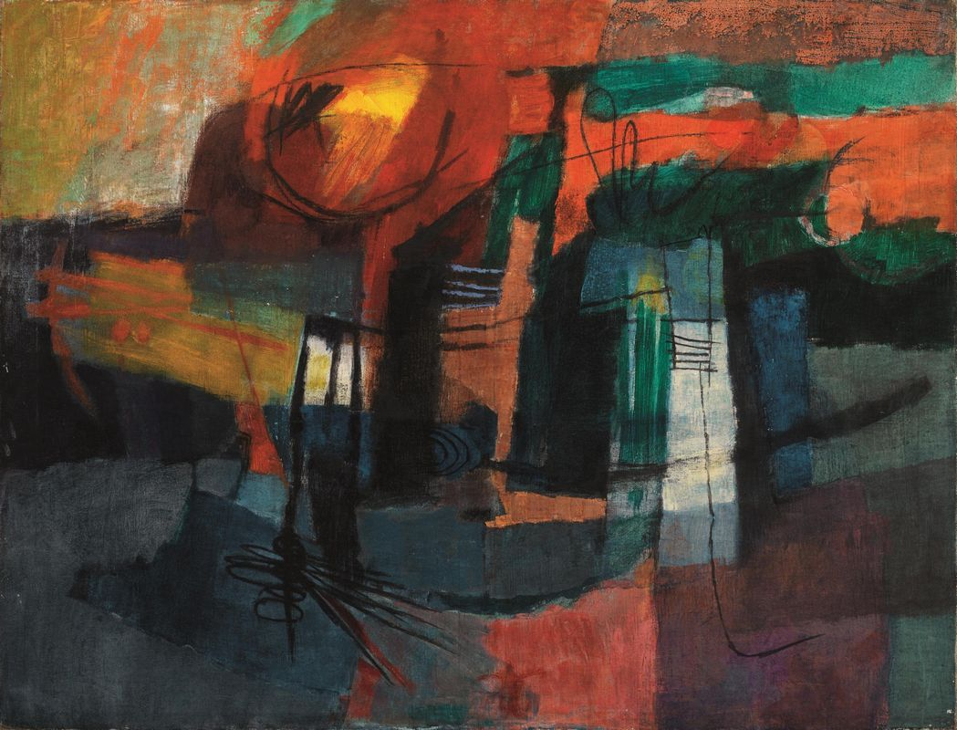 Afro basaldella asta arte moderna e contemporanea for Casa moderna zurigo