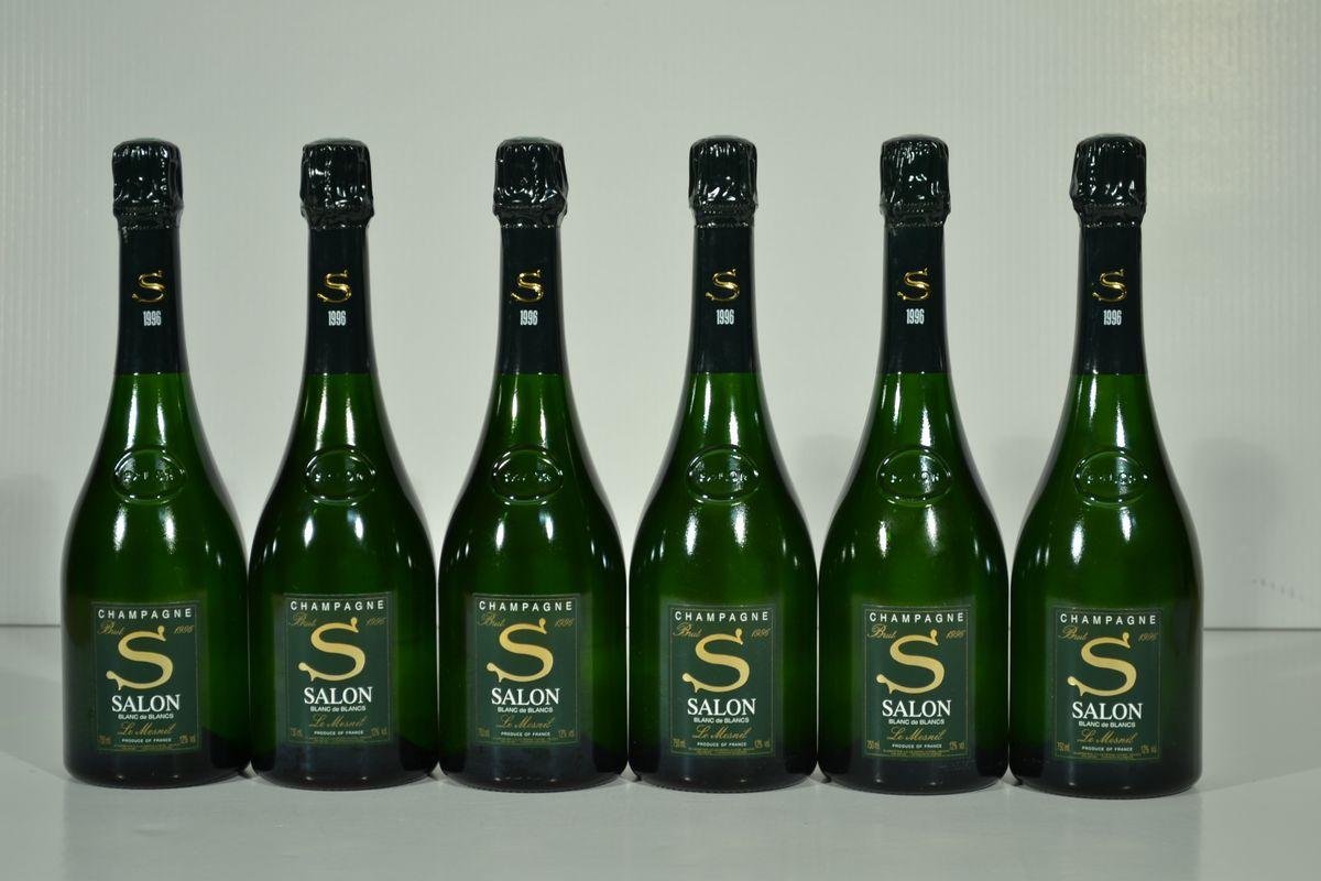 Champagne cuvee s salon 1996 asta vini pregiati e da for 1996 salon champagne