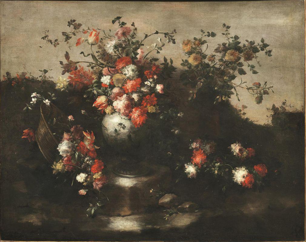 Maestro dei fiori guardeschi asta importanti dipinti for Fiori di ciliegio dipinti
