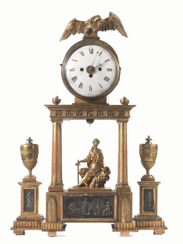 Orologio da tavolo vienna fine sec xviii di forma a for Orologio da tavolo legno
