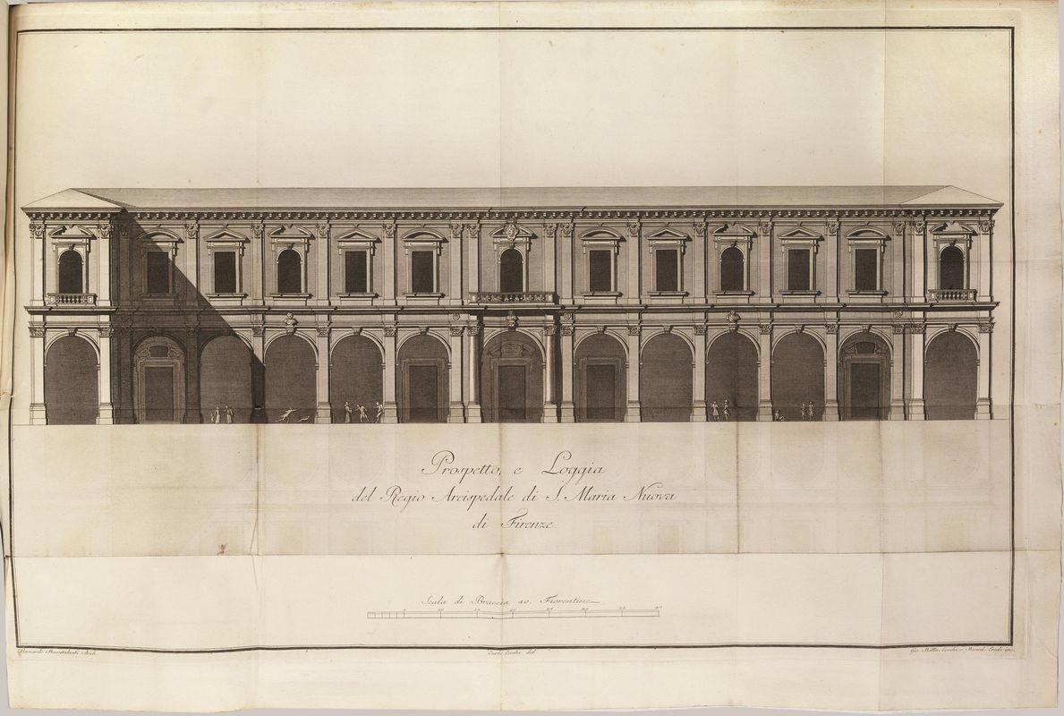 Medicina Architettura Illustrati 700 Chiarugi Vincenzo 1759