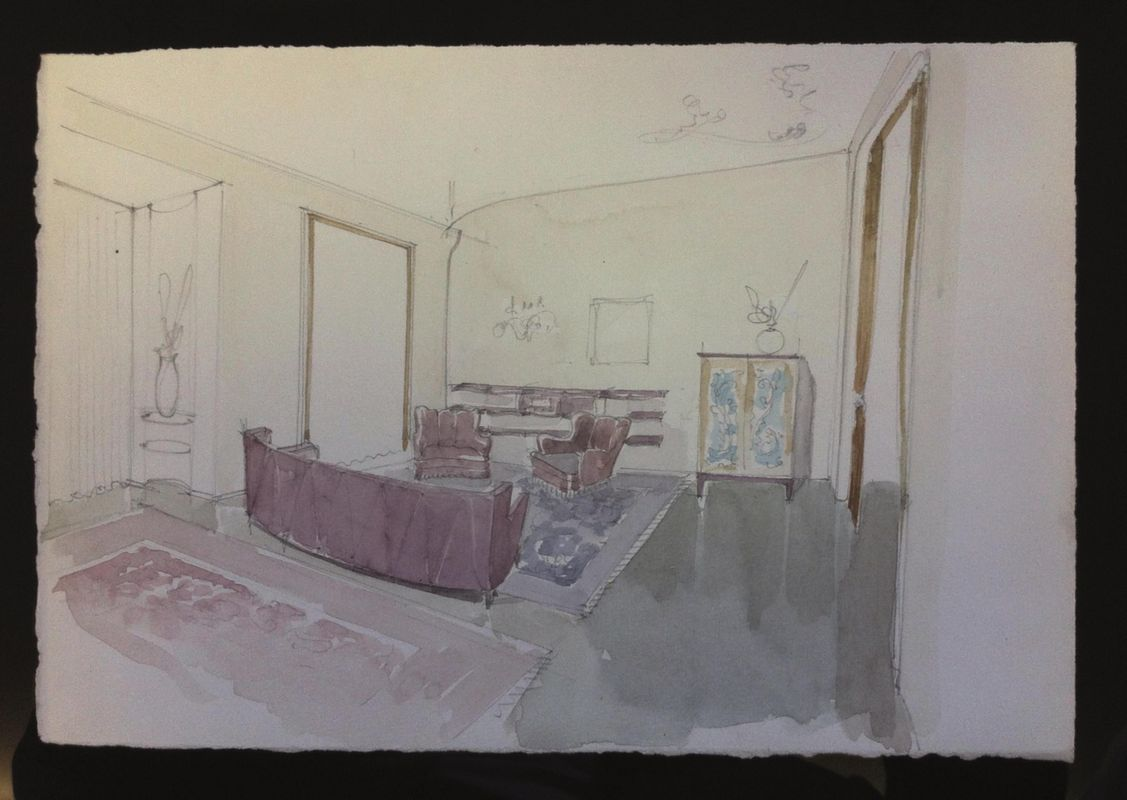 Osvaldo borsani arti decorative del sec xx e design asta 90 anni di aste capolavori da - Aste arredamento casa ...
