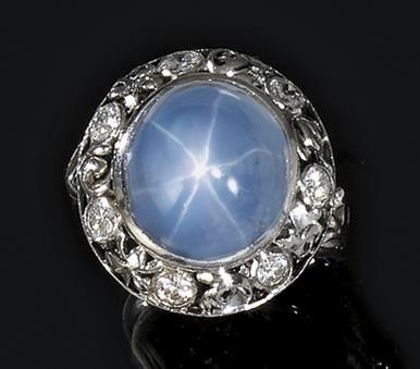 Platino anello