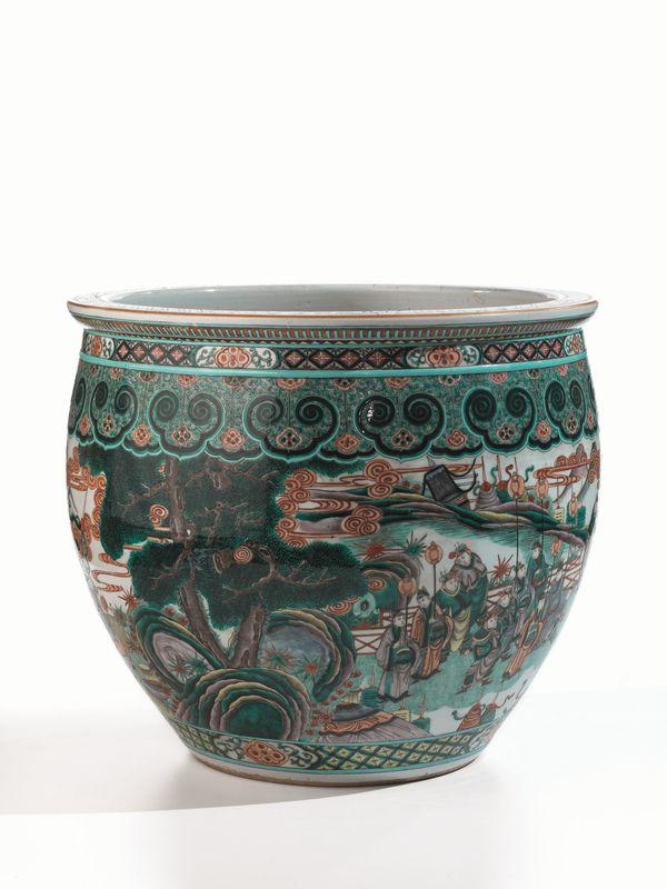 Vasca da pesci cina dinastia qing arte orientale asta for Vasca pesci esterno