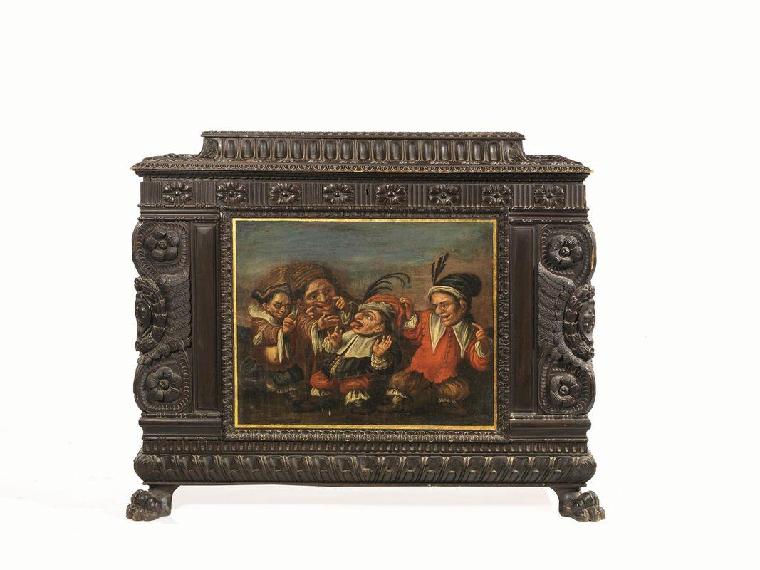 Coppia di casse in stile rinascimentale secolo xix for Asta mobili antichi