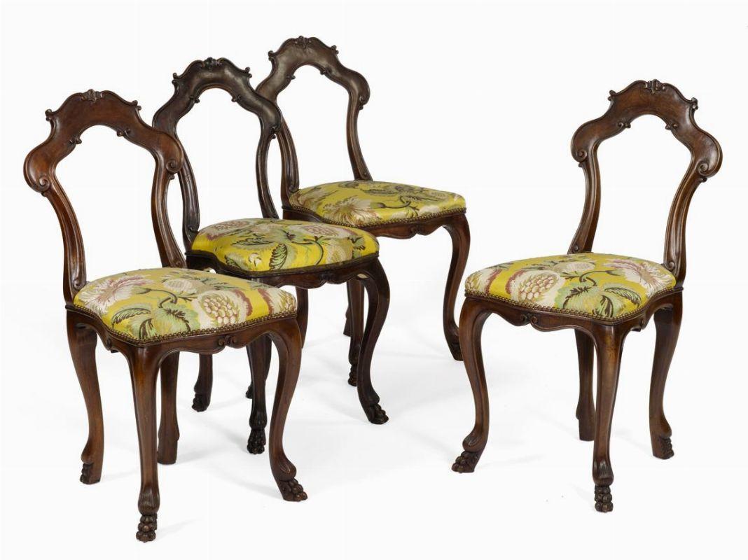 Quattordici sedie da gioco venezia secoli xix e xx for Sedie importanti