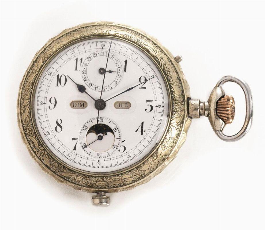 orologio da tasca argento