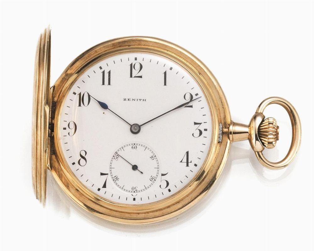 orologio da tasca zenith inizi sec xx cassa
