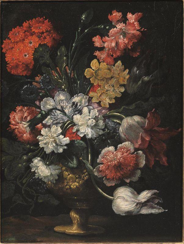 Andrea scacciati dipinti e sculture antiche asta for Vasi di fiori dipinti
