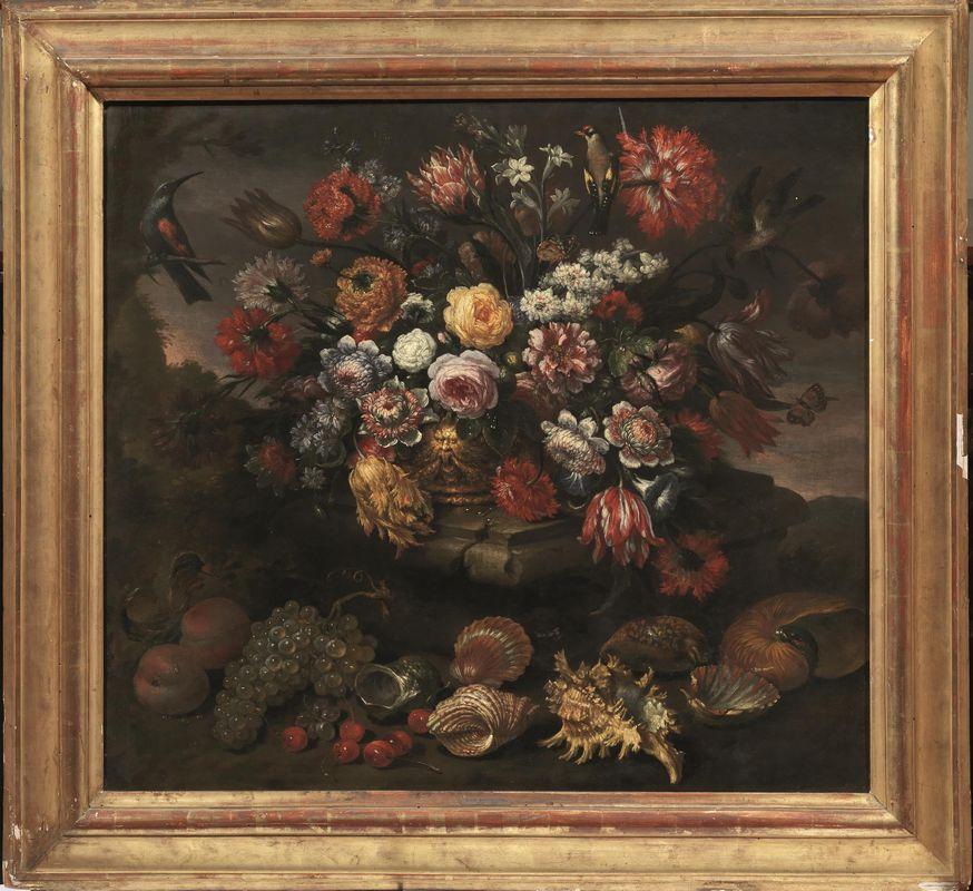 Bartolomeo bimbi dipinti e sculture antiche asta for Sculture di fiori
