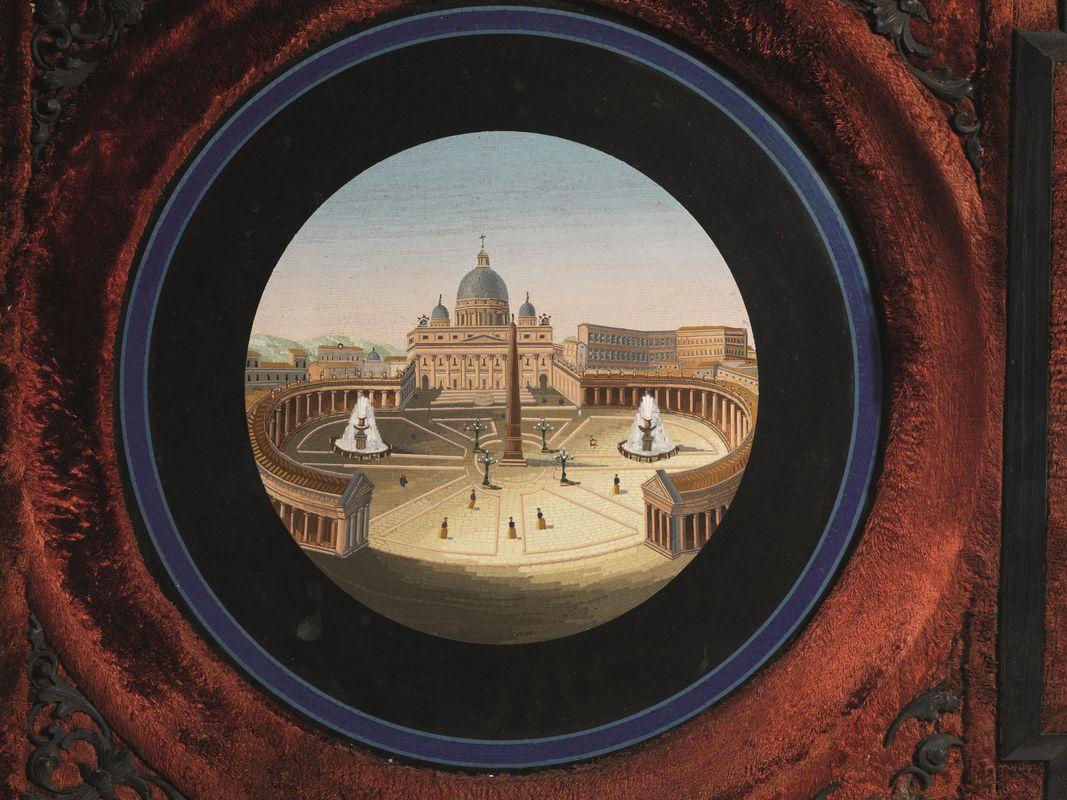 Micromosaico roma met del secolo xix mobili ed for Grieco mobili