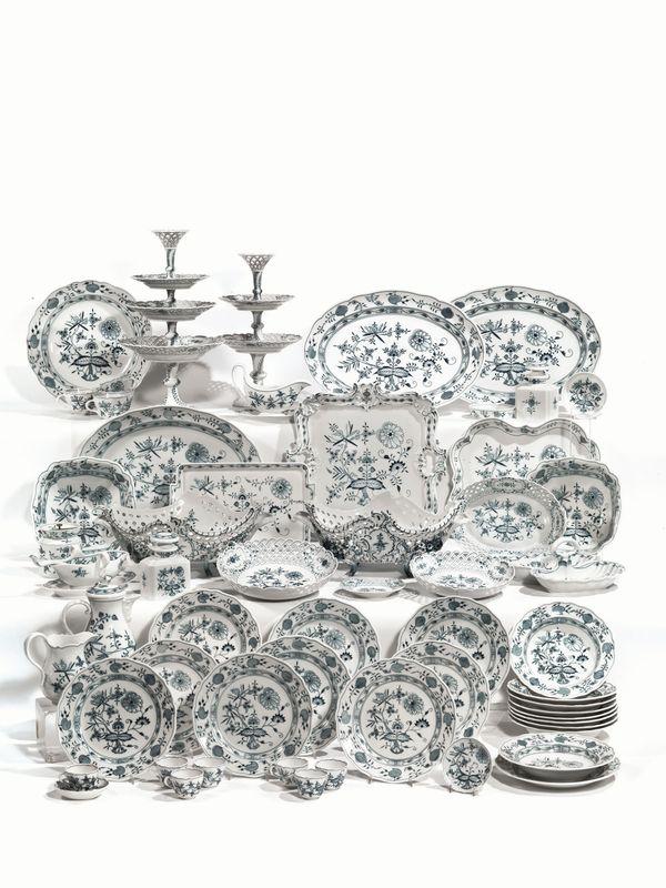 Servito di piatti manifattura di meissen secolo xix xx for Grandi piani di una casa da ranch di storia