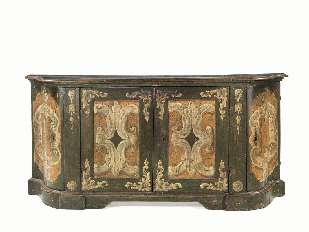 Credenza Con Maioliche : Credenza italia centrale secolo xviii mobili ed oggetti d arte