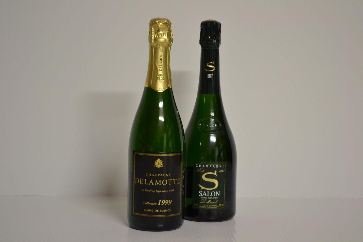 Selezione champagne vini pregiati e da collezione asta for 1997 champagne salon