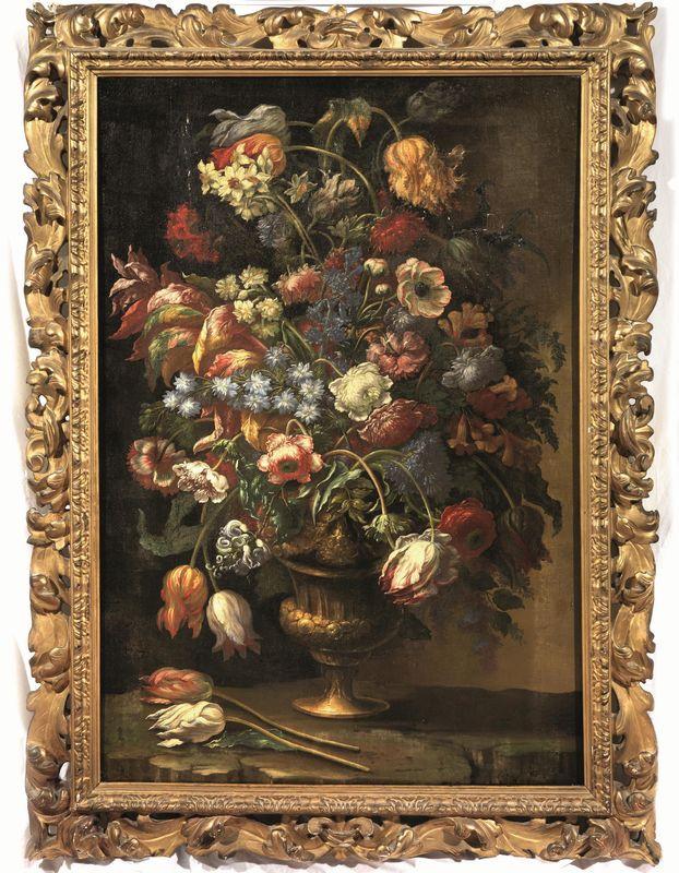 Andrea scacciati dipinti e sculture antiche asta for Sculture di fiori