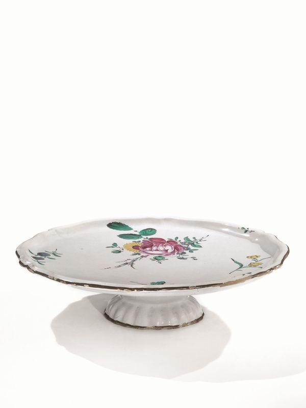 Casa In Bologna Ceramiche.Alzata Bologna Manifattura Finck 1775 1797 Porcellane E