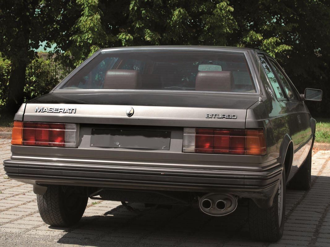 MASERATI BITURBO (ANNO 1983) - AUTO CLASSICHE - Asta Auto ...