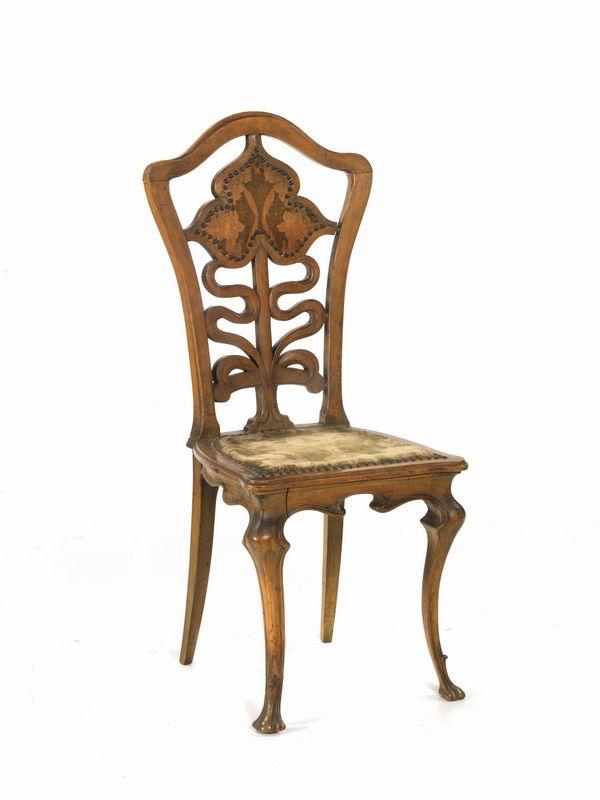 sedia 1900 circa mobili ed oggetti d 39 arte asta mobili