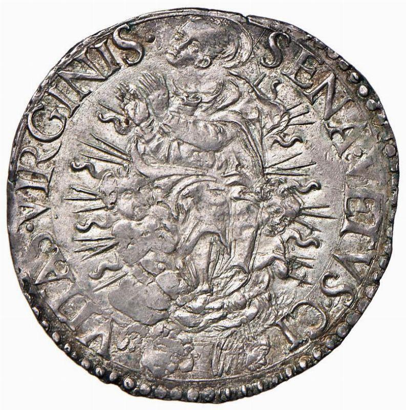 Siena repubblica 1404 1555 giulio 1550 monete e for Case moderne sotto 2000 piedi quadrati