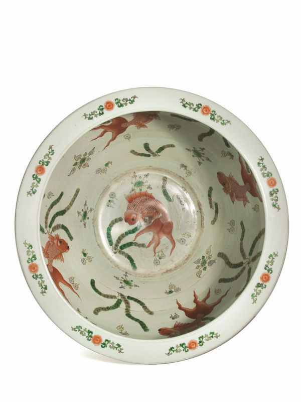 Vasca da pesci secc xix xx asian art auction asian for Vasca pesci esterno