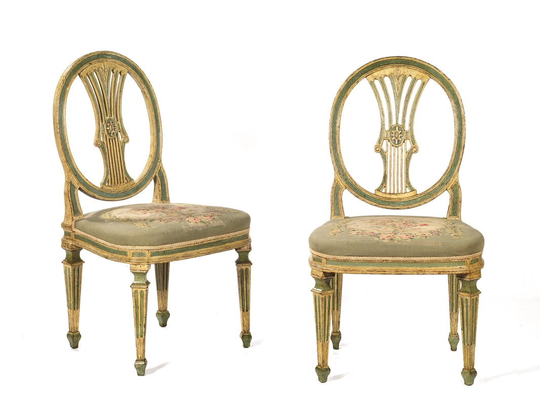 Sedie 800 Francese : Coppia di sedie chairs poltrone antche francesi french dell